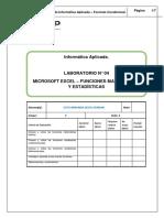 Lab 04 - Excel 2013 - Funciones matematicas y estadisticas 1.docx