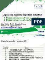 Unidad I-1 Legislación Laboral y Seguridad Industrial [Autoguardado]