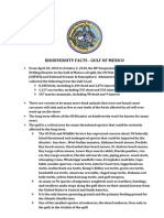 Gulf Biodiversity Fact Sheet