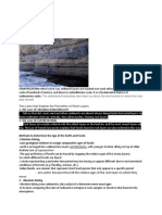 ABSOLUTE DATING AND RELATIVE DATING , AND STRATIFICATION, GEOLOGIC TIME SCALE.docx