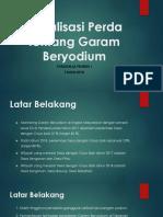 Sosialisasi Perda Tentang Garam Beryodium
