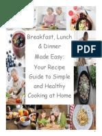 education recipe book opalka