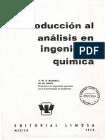 CAP. 01 Introduccion al Analisis en Ing. Quimica