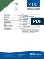 Perkins 30kW Motor Datasheet