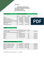 Presupuesto de Efectivo Cerro Dorado