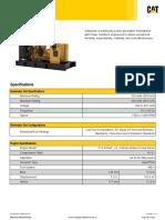 C13 ACERT 320 ekW 400 kVA 50 Hz 400 V 0.8 P.F. 4215197 (1)