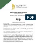 Comunion Mundial de Iglesias Reform Ad As