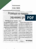 Balita, Dec. 5, 2019, Proteksyon vs maagang pag-aasawa, iginiit.pdf