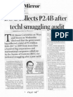 Business Mirror, Dec. 5, 2019, BOC collects P2.4B after techl smuggling audit.pdf