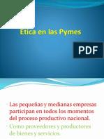 Ética en Las Pymes
