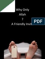 Proving Allah