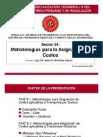 Metodología Asignación Costos transmision
