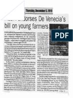 Peoples Journal, Dec. 5, 2019, NEDA endorse De Venecias bill on young farmers.pdf