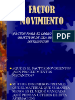 Factor Movimiento