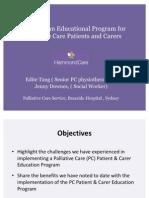 PC Pt & Carer Education