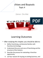 Topic 4 - Franchises and       Buyouts.ppt