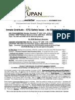 UPAN Newsletter Vol 6 No 11 November 2019
