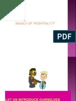Basics of Hospitality