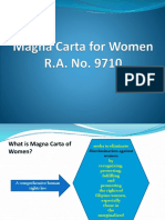 6. PARAS - Magna Carta for Women, Anti-Sexual Harrassment & Minors