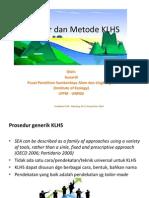 Prosedur Dan Metode KLHS