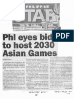 Philippine Star, Dec. 5, 2019, Phl eyes bid to host 2030 Asia Games.pdf