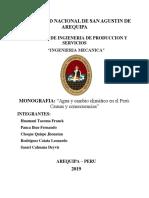 Agua y cambio climático en el Perú causas y consecuencias) (1).docx