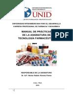 GUIA PRACTICA- Tecnología Farmacéutica 2019-II