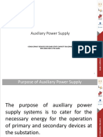 2. Auxillary Power Supply