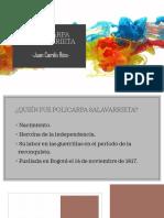 Unidad 4 Policarpa Salavarrieta - Juan Camilo Ríos