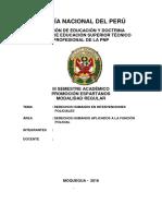 Policía Nacional Del Perú Inteligencia