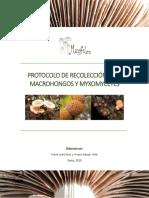 PROTOCOLO DE RECOLECCIÓN PARA MACROHONGOS Y MYXOMYCETES