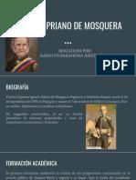 Unidad 5 Tomás Cipriano de Mosquera - Karolyn Barahona