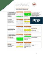 Calendario Academico 2019 2020