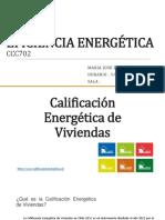 Calificacion Energetica de Viviendas