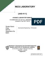 Avionics Lab Manual