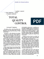Total Quality Control - Harvard Business Review (Feigenbaum, A - 1956)