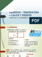 Densidad Temperatura Calor y Presión (1)