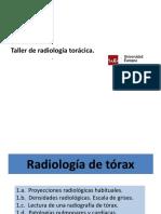 B. TALLER RX TORÁCICA