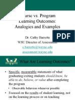 Course vs program