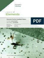 James Davids Elements Report