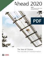 UBS Research Year Ahead 2019 Report Global En