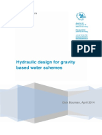 Hydraulic Design for Gravity Based Water Schemes Publication 2014
