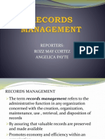 Records Management Chapter 7