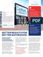 UK Fast Hosting Better Bathrooms Casestudy