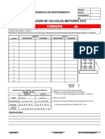 Valve Lash Form3412