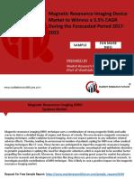 Magnetic Resonance Imaging Device Market