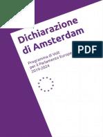 Amsterdam Declaration ITA