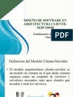 Diseño de Software en Arquitectura Cliente-Servidor