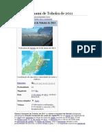 Sismo e Tsunami de Tohoku de 2011
