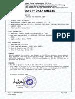 黄金选矿剂-MSDS(英文)